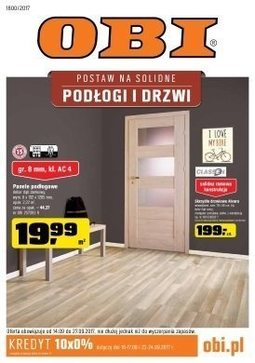 Gazetka promocyjna Obi, ważna od 14.09.2017 do 27.09.2017.