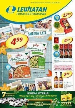 Gazetka promocyjna Lewiatan, ważna od 14.09.2017 do 20.09.2017.