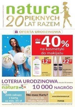 Gazetka promocyjna Drogerie Natura, ważna od 14.09.2017 do 27.09.2017.