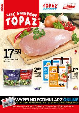 Gazetka promocyjna Topaz, ważna od 21.09.2017 do 27.09.2017.