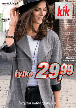 Gazetka promocyjna KIK, ważna od 20.09.2017 do 22.10.2017.