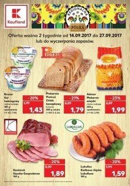 Gazetka promocyjna Kaufland, ważna od 14.09.2017 do 27.09.2017.