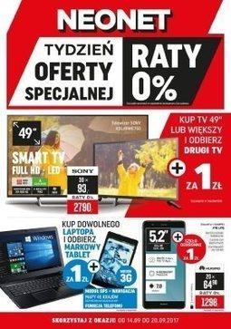 Gazetka promocyjna Neonet, ważna od 14.09.2017 do 20.09.2017.