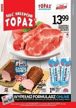 Gazetka promocyjna Topaz, ważna od 28.09.2017 do 04.10.2017.