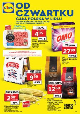 Gazetka promocyjna Lidl, ważna od 21.09.2017 do 24.09.2017.