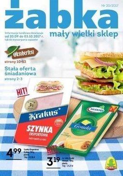 Gazetka promocyjna Żabka, ważna od 20.09.2017 do 03.10.2017.