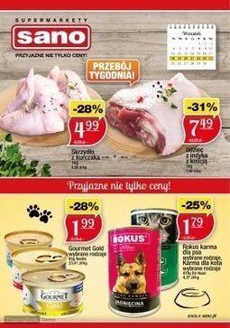 Gazetka promocyjna Sano, ważna od 18.09.2017 do 24.09.2017.