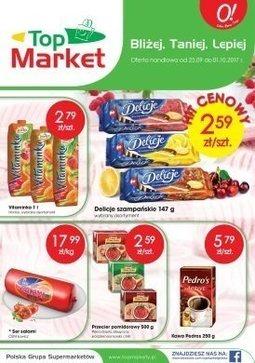 Gazetka promocyjna Top Market, ważna od 25.09.2017 do 01.10.2017.