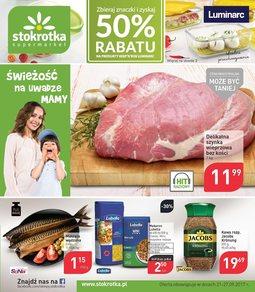 Gazetka promocyjna Stokrotka, ważna od 21.09.2017 do 27.09.2017.