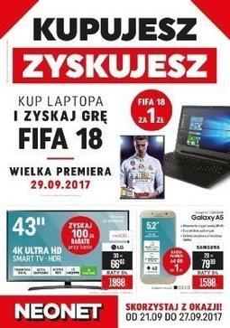 Gazetka promocyjna Neonet, ważna od 21.09.2017 do 27.09.2017.