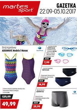 Gazetka promocyjna Martes Sport, ważna od 22.09.2017 do 05.10.2017.