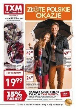 Gazetka promocyjna Textil Market, ważna od 21.09.2017 do 03.10.2017.