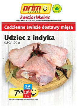Gazetka promocyjna Prim Market, ważna od 22.09.2017 do 27.09.2017.