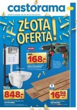 Gazetka promocyjna Castorama, ważna od 25.09.2017 do 08.10.2017.