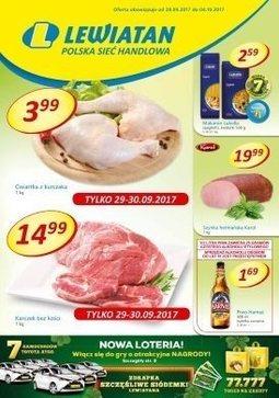 Gazetka promocyjna Lewiatan, ważna od 28.09.2017 do 04.10.2017.