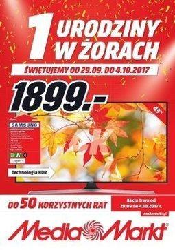 Gazetka promocyjna Media Markt, ważna od 29.09.2017 do 04.10.2017.
