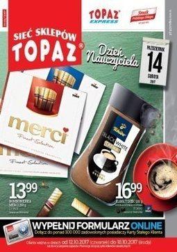 Gazetka promocyjna Topaz, ważna od 12.10.2017 do 18.10.2017.