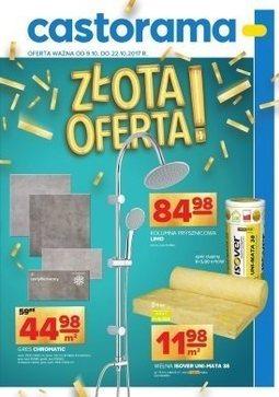 Gazetka promocyjna Castorama, ważna od 09.10.2017 do 22.10.2017.