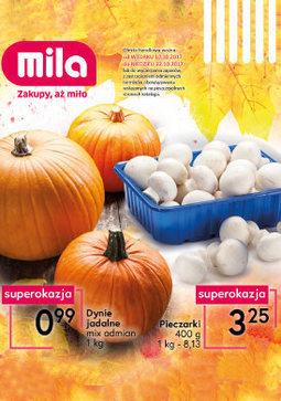 Gazetka promocyjna Mila, ważna od 10.10.2017 do 22.10.2017.