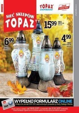 Gazetka promocyjna Topaz, ważna od 19.10.2017 do 31.10.2017.