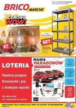 Gazetka promocyjna Bricomarché, ważna od 11.10.2017 do 22.10.2017.