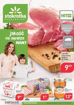 Gazetka promocyjna Stokrotka, ważna od 12.10.2017 do 18.10.2017.