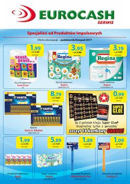Gazetka promocyjna Eurocash Cash&Carry, ważna od 01.10.2017 do 30.11.2017.