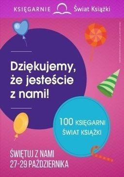Gazetka promocyjna Księgarnie Świat Książki, ważna od 12.10.2017 do 15.11.2017.