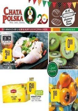 Gazetka promocyjna Chata Polska, ważna od 12.10.2017 do 18.10.2017.