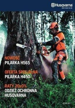 Gazetka promocyjna Husqvarna, ważna od 12.10.2017 do 30.11.2017.