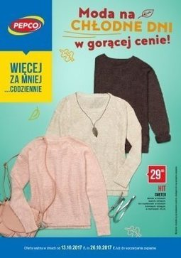 Gazetka promocyjna Pepco, ważna od 13.10.2017 do 26.10.2017.