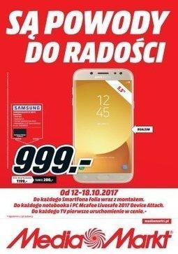 Gazetka promocyjna Media Markt, ważna od 12.10.2017 do 18.10.2017.