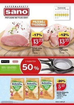 Gazetka promocyjna Sano, ważna od 16.10.2017 do 22.10.2017.