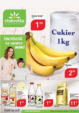 Gazetka promocyjna Stokrotka, ważna od 19.10.2017 do 25.10.2017.