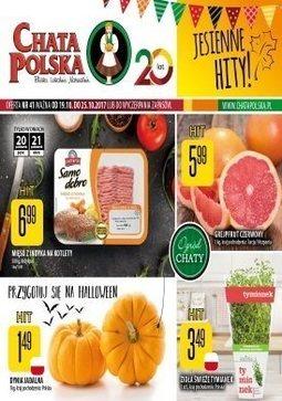 Gazetka promocyjna Chata Polska, ważna od 19.10.2017 do 25.10.2017.