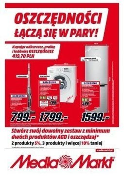 Gazetka promocyjna Media Markt, ważna od 19.10.2017 do 24.10.2017.