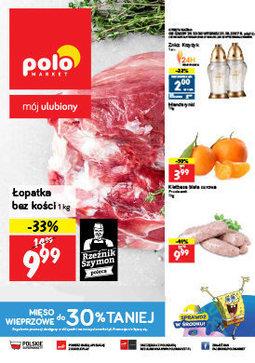 Gazetka promocyjna POLOmarket, ważna od 25.10.2017 do 31.10.2017.