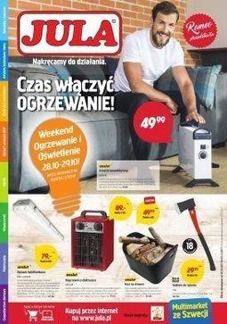 Gazetka promocyjna Jula, ważna od 20.10.2017 do 05.11.2017.