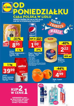 Gazetka promocyjna Lidl, ważna od 23.10.2017 do 25.10.2017.