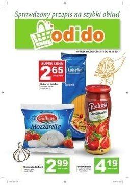 Gazetka promocyjna ODIDO, ważna od 13.10.2017 do 26.10.2017.