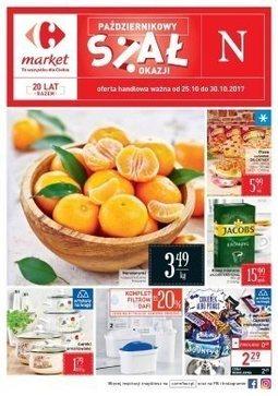 Gazetka promocyjna Carrefour Market, ważna od 25.10.2017 do 30.10.2017.