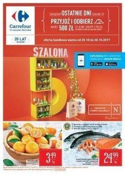 Gazetka promocyjna Carrefour, ważna od 25.10.2017 do 30.10.2017.