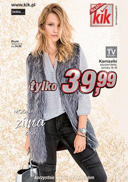 Gazetka promocyjna KIK, ważna od 15.10.2017 do 19.11.2017.