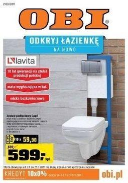 Gazetka promocyjna Obi, ważna od 02.10.2017 do 22.10.2017.