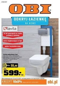 Gazetka promocyjna Obi, ważna od 02.11.2017 do 22.11.2017.
