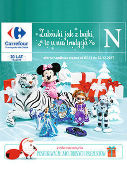 Gazetka promocyjna Carrefour, ważna od 02.11.2017 do 24.12.2017.
