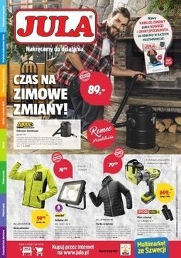 Gazetka promocyjna Jula, ważna od 01.11.2017 do 22.11.2017.