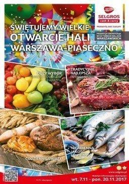 Gazetka promocyjna Selgros Cash&Carry, ważna od 07.11.2017 do 20.11.2017.