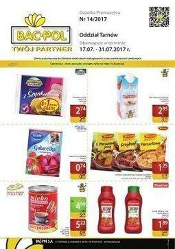 Gazetka promocyjna Bać-Pol, ważna od 01.11.2017 do 19.11.2017.