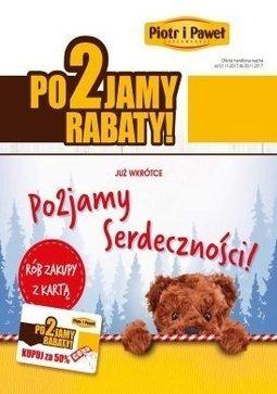 Gazetka promocyjna Piotr i Paweł, ważna od 01.11.2017 do 30.11.2017.